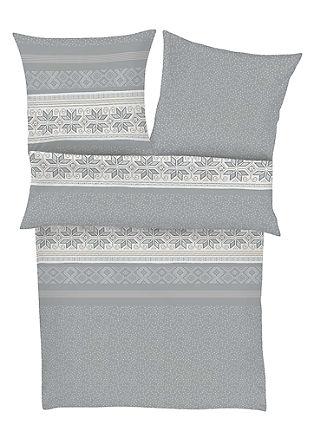 Komplet flanelaste posteljnine in nogavic