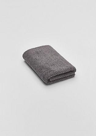 Zachte handdoek van badstof