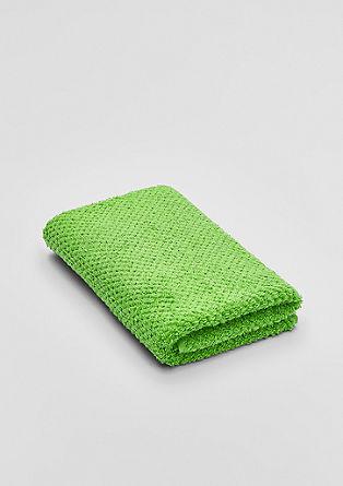 Heerlijk zachte badstof handdoek