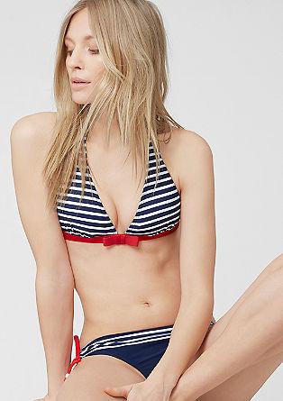 Bikini top, ki ga zavežete za vratom