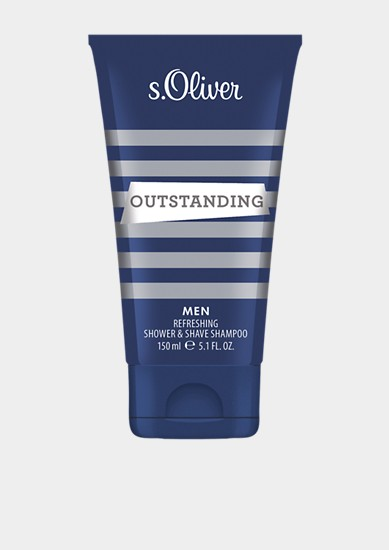 Outstanding Shower&Shave Shampoo 150 ml