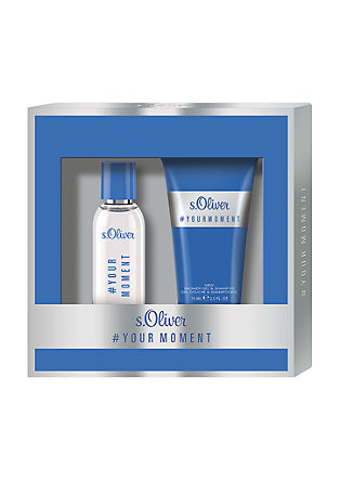 Coffret de parfum #YOUR MOMENT de s.Oliver