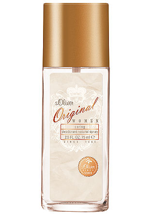 s.Oliver ORIGINAL women Caring Deodorant Natural Spray 75 ml