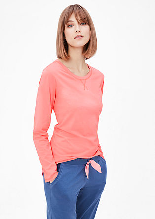 Strečové tričko s dlouhým rukávem