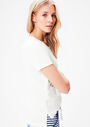 Simple cotton T-shirt from s.Oliver