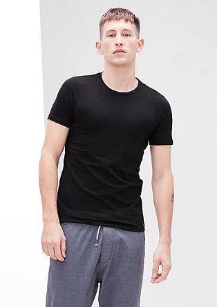 Basic-T-Shirts im Doppelpack