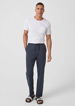 Domácí kalhoty ze žerzeje