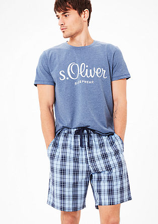 Cotton pyjama shorts from s.Oliver