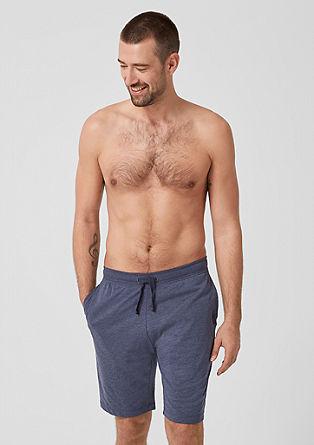 Krátké domácí kalhoty ze žerzeje