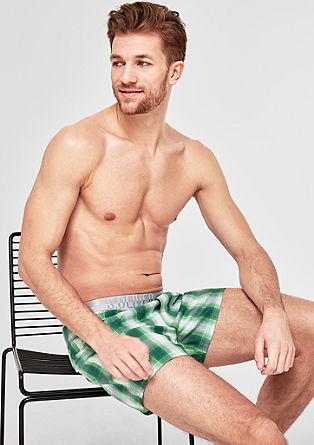 Two-pair pack of cotton boxer shorts from s.Oliver