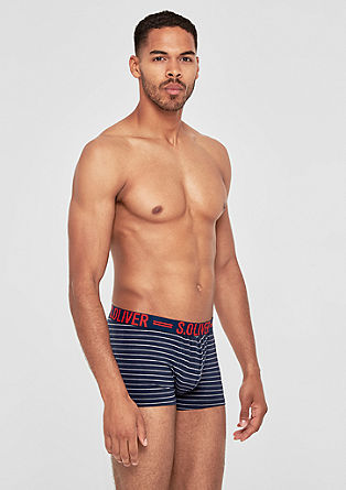 Pack of three jersey boxer shorts from s.Oliver