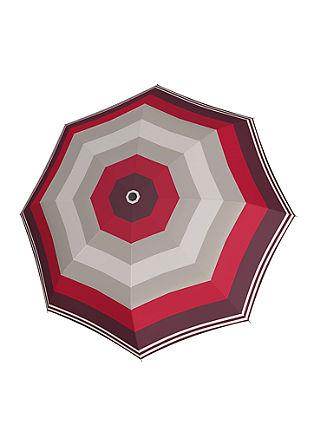 Taschenschirm im Streifen-Design