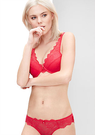 Cup bra made of lace from s.Oliver