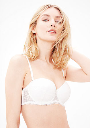 Balcony bra with lots of lace from s.Oliver
