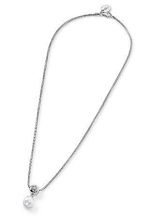Silberkette mit Schmuckperle