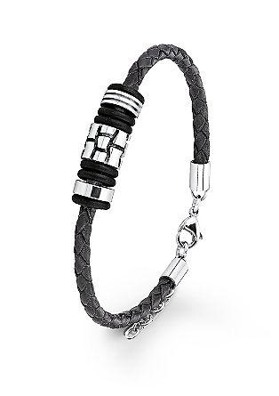 Armband aus geflochtenem Leder