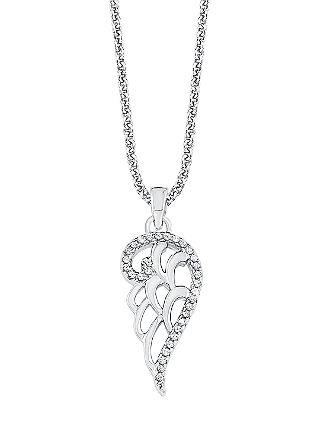 Ženska ogrlica; srebro; rožna pozlata