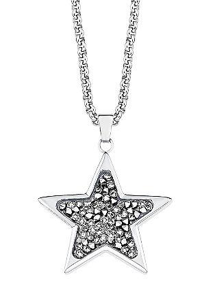 Halskette mit Swarovski® Kristallen
