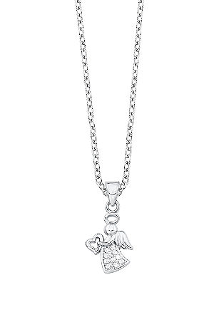 Halskette mit Schutzengel-Anhänger