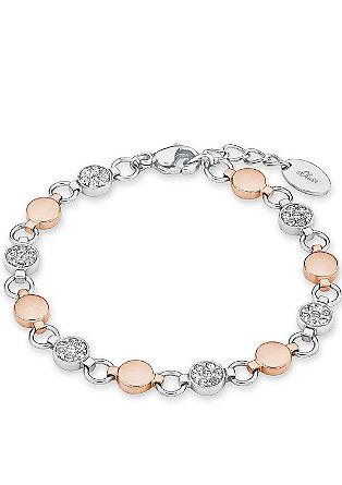 Armband van edelstaal met Swarovski® kristallen