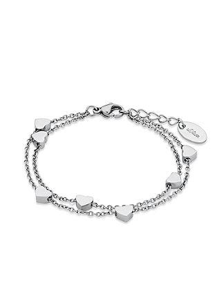 Armkette mit Herz-Beads