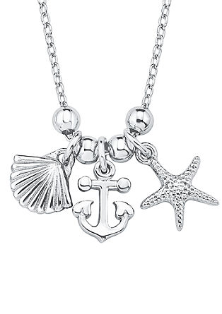 Maritim-Halskette aus Silber