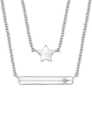 Ident-Halskette mit Stern