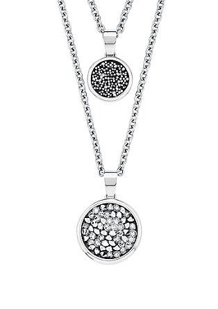 Halskette mit Swarovski Kristallen