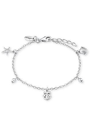 Maritim-Armband aus Silber