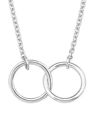Halskette mit verschlungenen Ringen