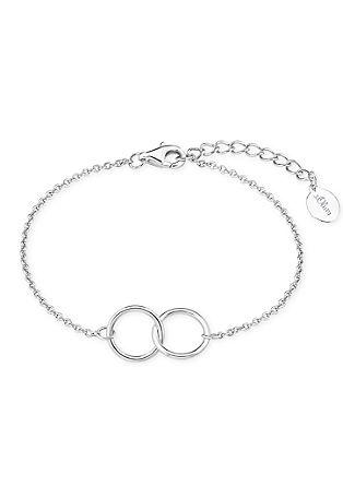 Armband mit verschlungenen Ringen