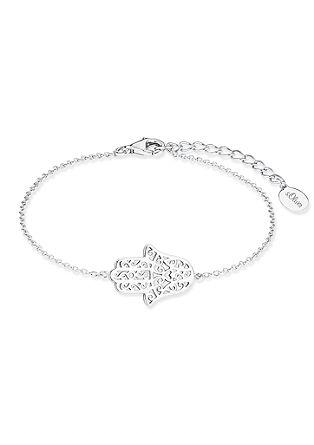 Silber-Armband mit 'Hamsa'-Hand