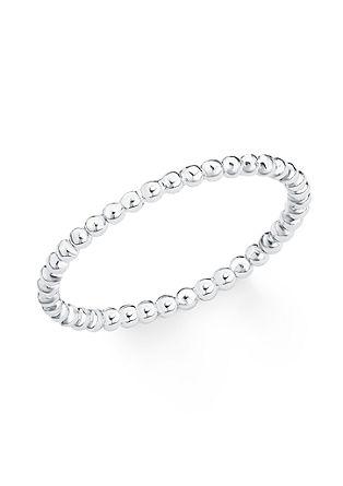 Silberner Ring 'Kügelchen'
