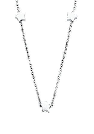 Edelstahl-Halskette mit Sternchen