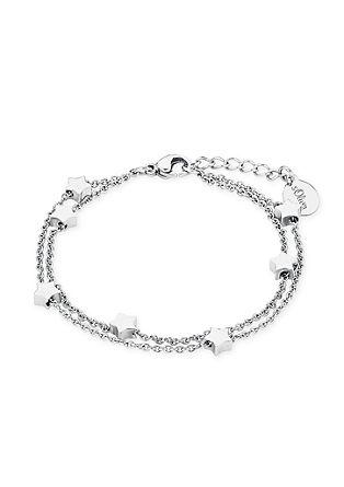 Edelstahl-Armband mit Sternchen