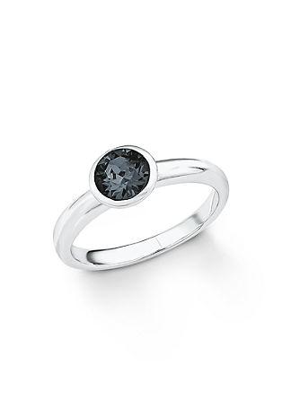 Silberring mit Swarovski® Kristall