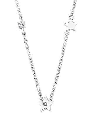 Silberkette mit Sternchen