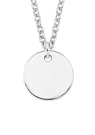 Silberkette mit gravierbarem Anhänger