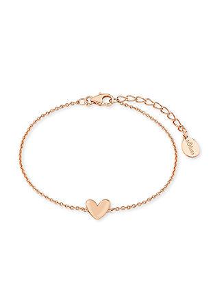 Rosévergoldetes Armband Herz