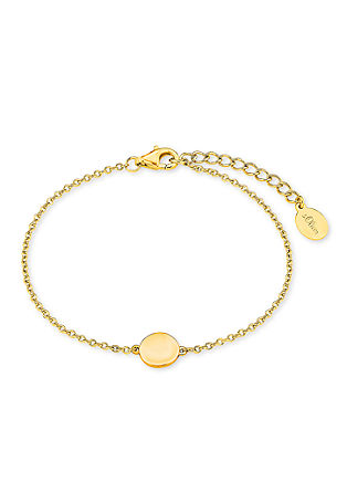 Vergoldetes Armband mit Münz-Anhänger