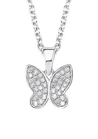 Halskette Schmetterling Silber 925