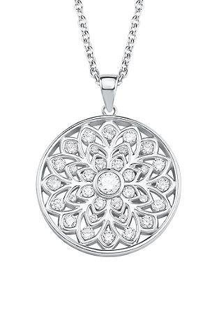Silber-Halskette Ornamente