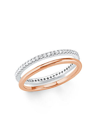 Steck-Ringe aus Silber