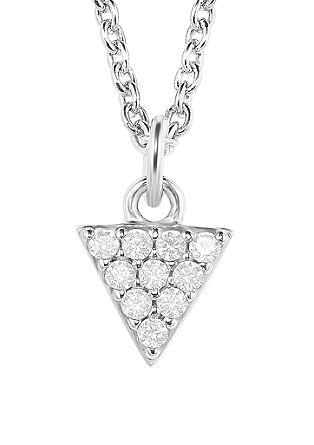 Ogrlica trikotnik iz srebra