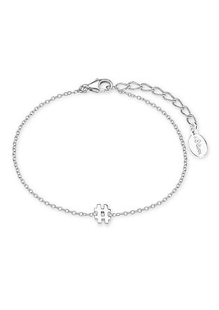 Armband Hashtag aus Silber
