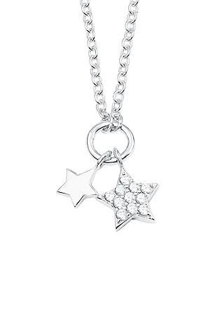 Halskette 'Stern' aus Silber