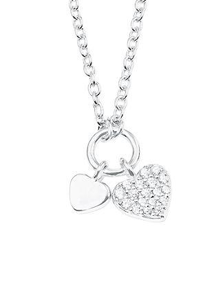 Halskette 'Herz' aus Silber
