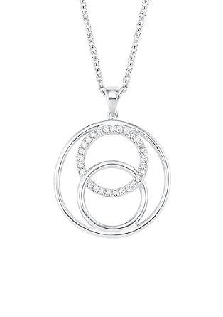 Halskette mit Kreis-Anhänger