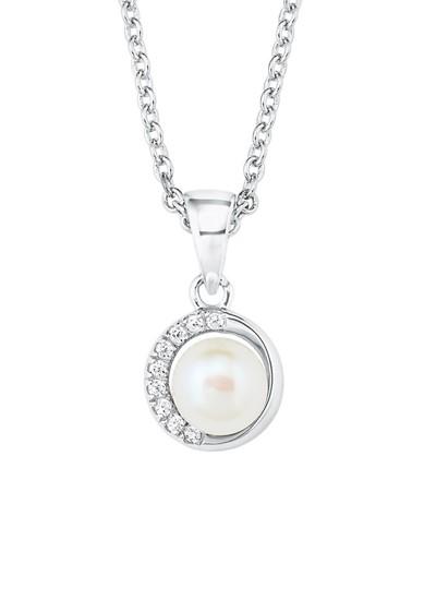Halskette mit Perlen-Anhänger