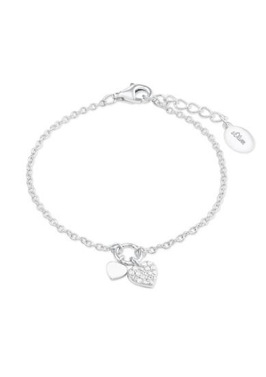 Armband 'Herz' aus Silber